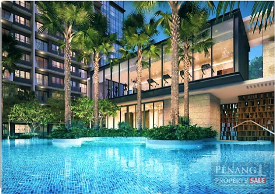 Best Integrated New Waterfront Condo at The Light City, Gelugor, Penang Island. (1,033sf)