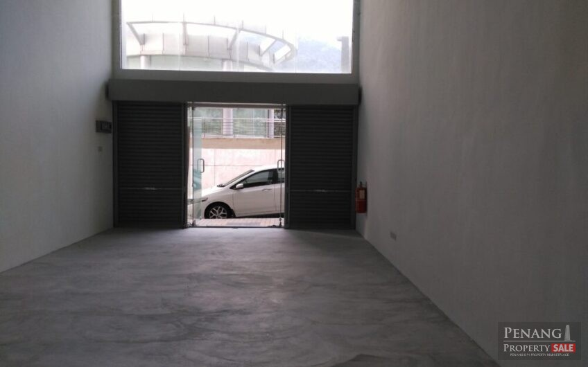 Unfurnished Shop-Office For Rent At The Palazzia, Bukit Gambier Penang