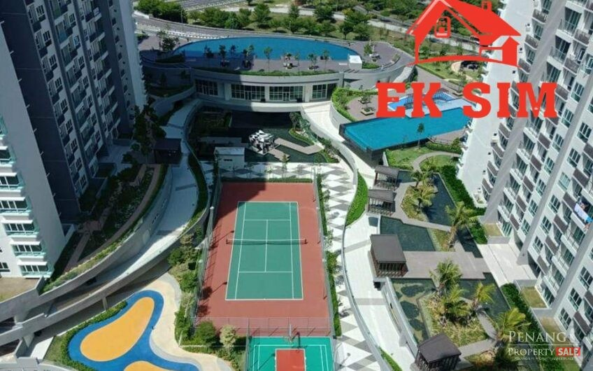 Sea View  Tropicana Bay Residence Fully Furnished Queensbay Mall