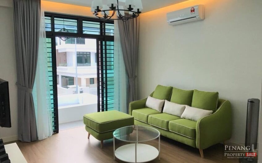 Pearl Residence 3 storey semi detached house For Rent